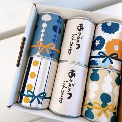 缶入りパン6缶 WAGARA【ありがとうございます】黄セット